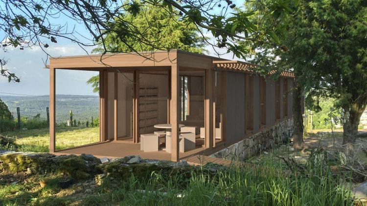 bioclimatic architecture, o soutiño  part 4