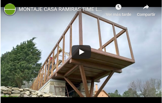 o soutiño prefabricated house, a look at the whole process (video)