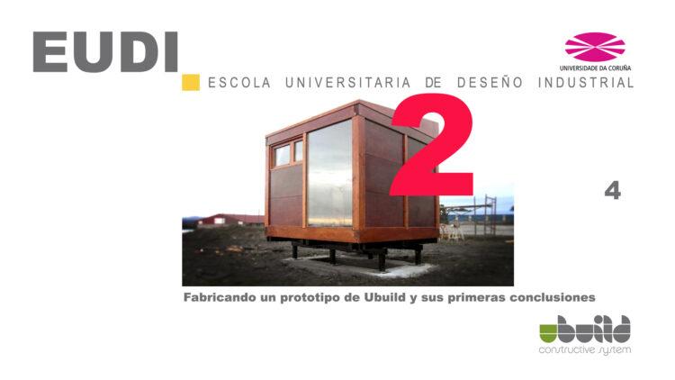 Seminario sobre Ubuild en la Escuela Universitaria de Diseño Industrial en la Universidad de La Coruña. Parte 4.2