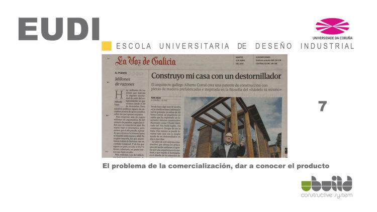 Seminario sobre Ubuild en la Escuela Universitaria de Diseño Industrial en la Universidad de La Coruña. Parte 7