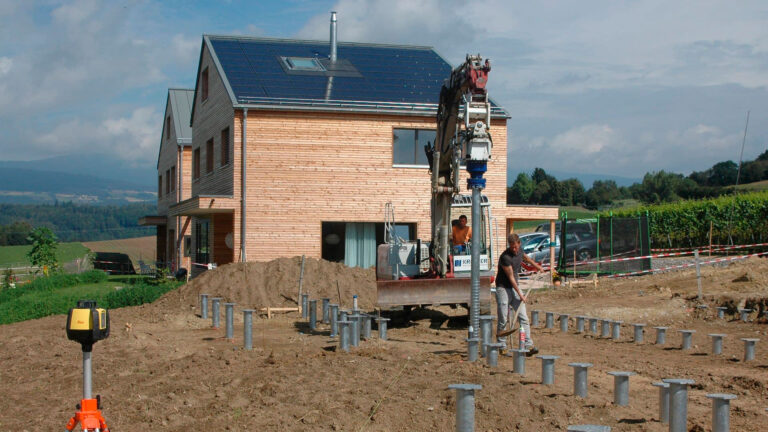 Ubuild incorpora un sistema de cimentación ecológico y muy versátil