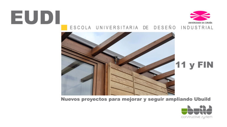 Seminario sobre Ubuild en la Escuela Universitaria de Diseño Industrial en la Universidad de La Coruña. Parte 11 y última.