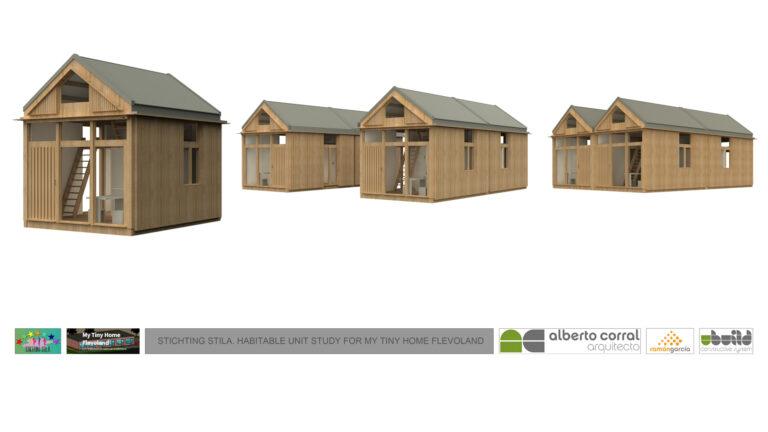 La Fundación Stila y Ubuild colaboran en un proyecto de viviendas para familias sin hogar en Almere, Holanda.